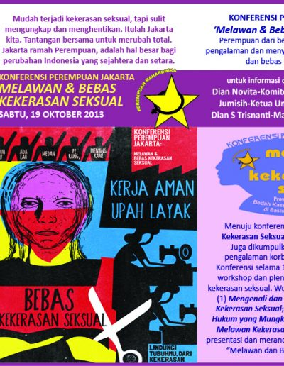 Konferensi Perempuan Jakarta_depan