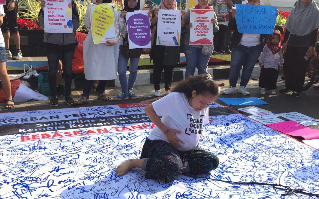 Korban Perkosaan Dipenjara, Kami Perempuan Terancam!