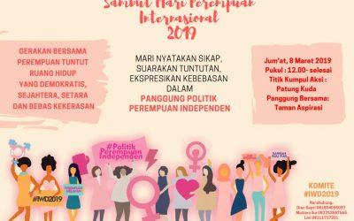 Rilis Pers Hari Perempuan Internasional 2019