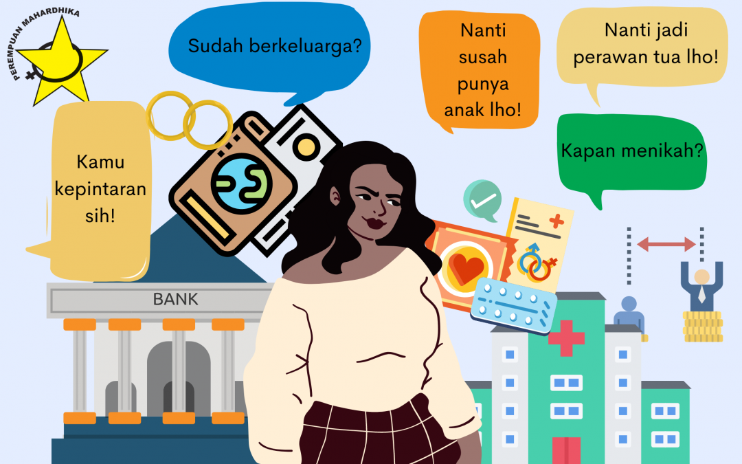 Sulitnya Menjadi Perempuan Lajang di Indonesia